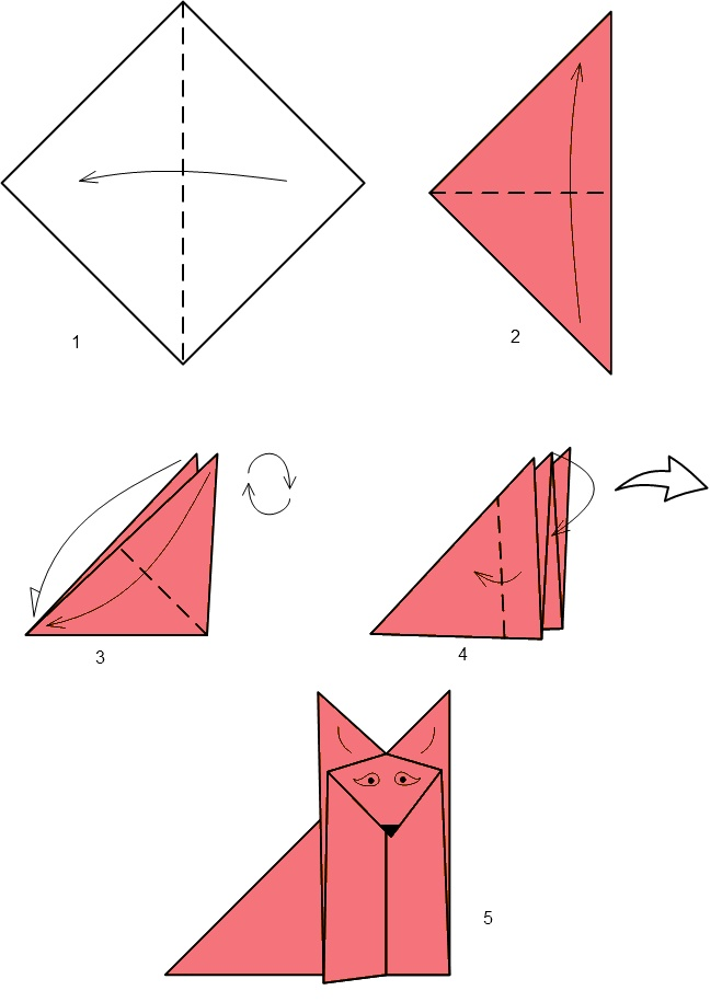 Как сделать из бумаги для детей 983