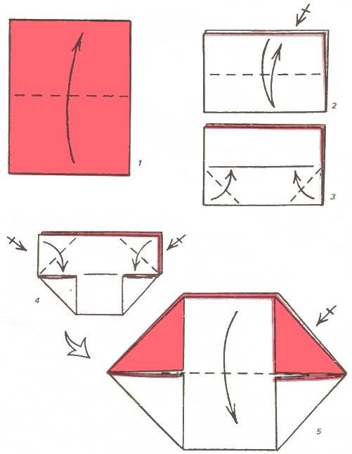 Клювики из бумаги как сделать