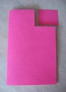 открытка раскладушка как сделать шаг 2