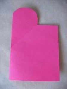 открытка раскладушка как сделать шаг 4