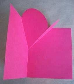 открытка раскладушка как сделать шаг 5