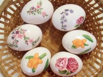 Съедобные поделки из яиц