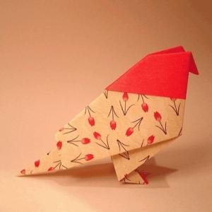 Схема оригами журавлик из бумаги / оригами для детей и.